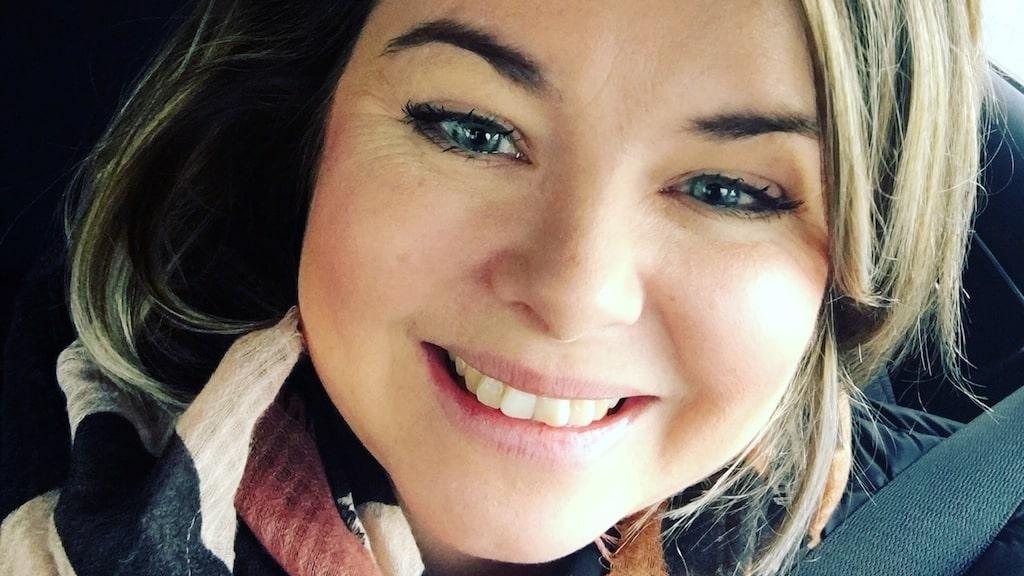 Piggare dagar - och lugna nätter. Sandra Ericsson, 36, har fått koll på sin diabetes med sitt tyngdtäcke.