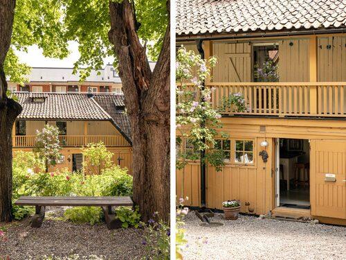 Huset är på 68 kvadratmeter och har fyra rum och kök.