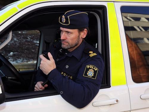 Martin Melin har jobbat som polis i 30 år.
