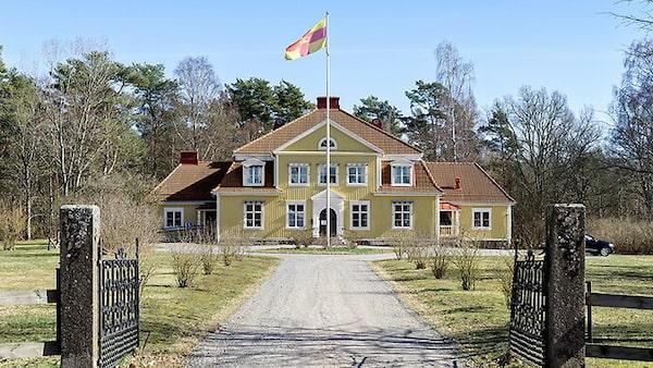 Pampig prästgård i Karlskrona.