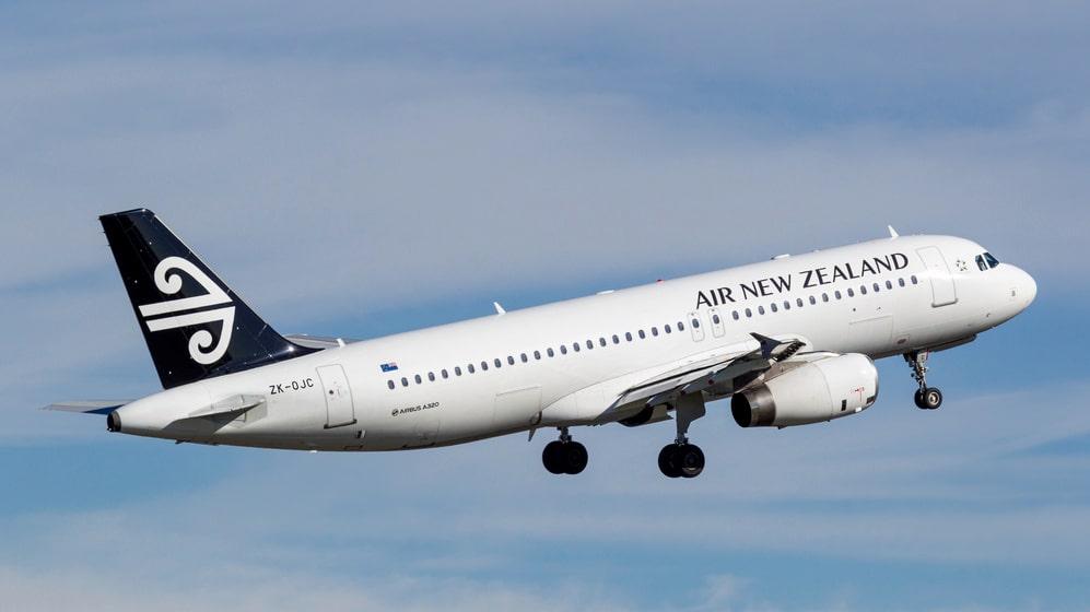 Tvåbarnsmamman uttnyttjade erbjudandet från Air New Zealand smart.