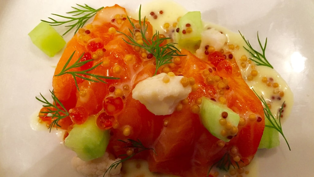 Tommy Myllymäki vill servera mycket grönsaker och maten ska ge en krispig känsla.