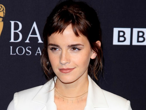 Emma Watson i sin korta micro-lugg.