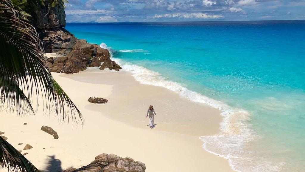 Lovisas senaste resa gick till Seychellerna.