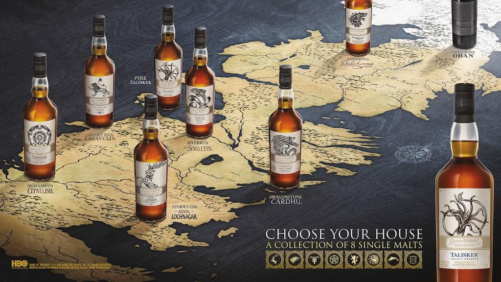 Nu släpps officiell whiskys för GoT-älskare på Systemet.