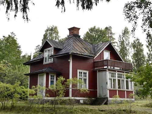 Så här såg huset ut när paret ville köpa det.