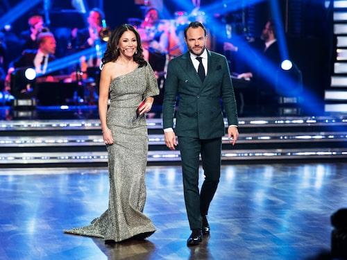 "Tilde de Paula Eby leder ""Let's dance"" tillsammans med David Hellenius."