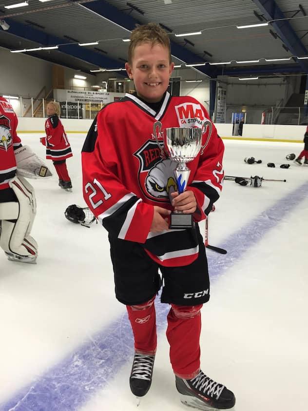 Oliver Matsson I Redhawks Troja Foto Privat