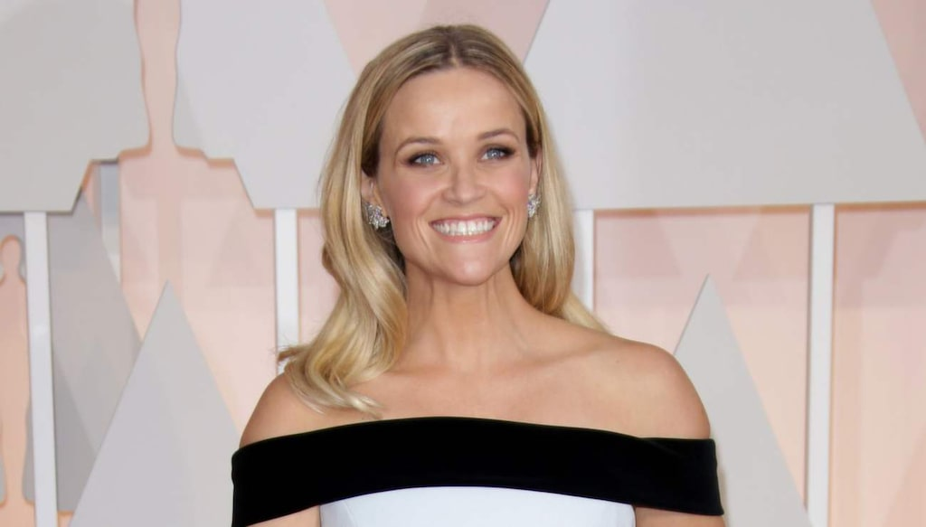 <strong>Hjärtformad ansiktsform - Reese Witherspoon.</strong>