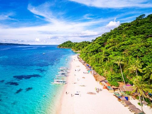 Boracay är en av flera populära öar i Filippinerna.