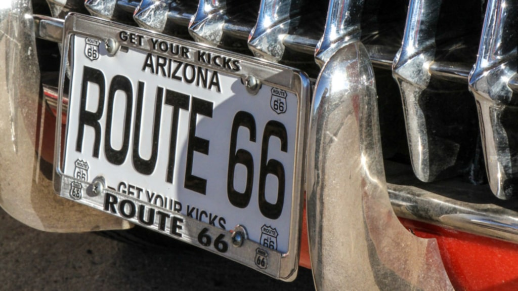 """Get your kicks on Route 66""."