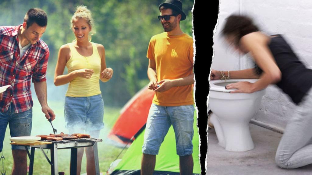 Sommaren är högsäsong för olika typer av magsjuka, så var försiktig.