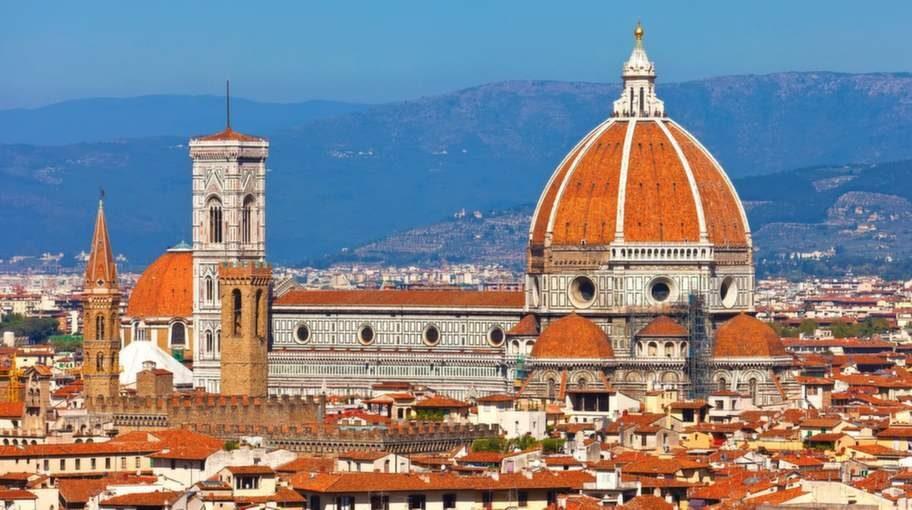 Domkyrkan är en av Florens mest kända byggnader.