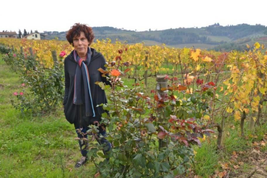 Maria Masini odlar biodynamiska viner och kan lära dig laga mat på toskanskt vis. Hon har även ett hus med egen pool och hisnande utsikt att hyra ut.