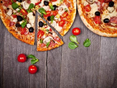 Till varje pizza finns en speciellt framtagen cocktail.
