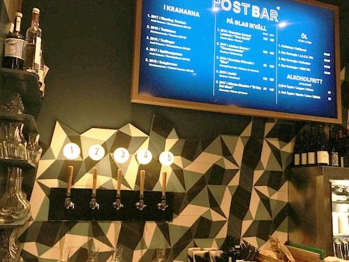 Naturvin på tappkran får du chansen till om du besöker Post Bar vid Nytorget i Stockholm.