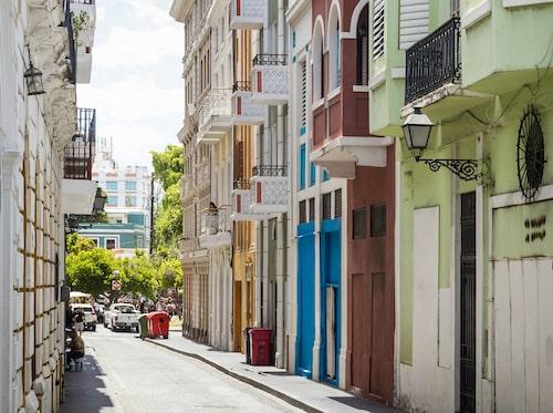 San Juan i Puerto Rico är Amerikas näst äldsta stad.