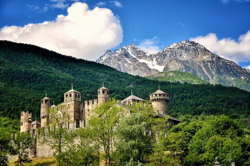 Slottet Fenis.