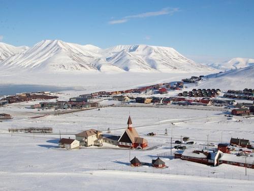 En av de nordligaste bebodda platserna på jorden är Svalbard.