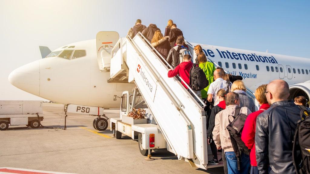 Ombordstigningen är oftast en av de tråkigaste delarna av resan.