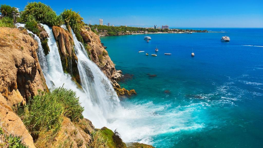 Antalya i Turkiet är tvåa på listan.