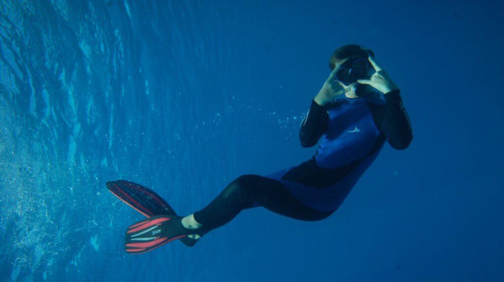 <p>Dykning är något som Patrik ägnat sig mycket åt.</p>