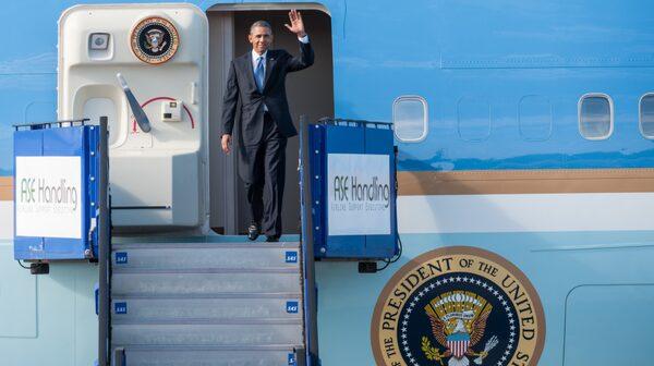 Obamas besök är minnesvärt.