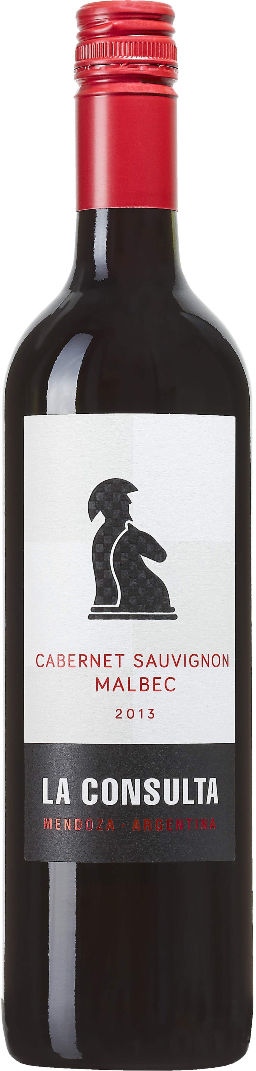 """<strong>La Consulta Cabernet Sauvignon Malbec 2013</strong><br>(6548) Argentina, 69 kronor<br>Tydliga drag av mörka bär, mynta och vingummin i smaken. Fint till en smakrik kött- och grönsaksgryta.<br><exp:icon type=""""wasp""""></exp:icon><exp:icon type=""""wasp""""></exp:icon><exp:icon type=""""wasp""""></exp:icon>"""