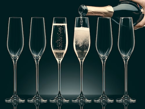 Njut av goda prisvärda champagner från årets vinnarlista.