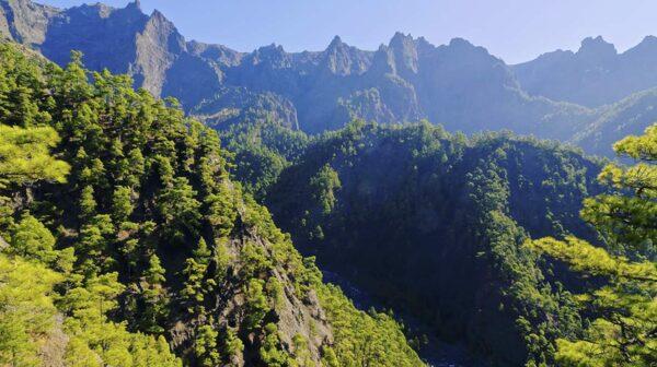Till La Palma åker man nästan bara för att vandra.