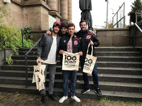 Frågesporten 100 Point Challenge är ett kul sätt att utforska Göteborg tillsammans.