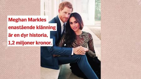 4ea7d06af293 Drottning Elizabeths beslut om Meghan Markles brudklänning