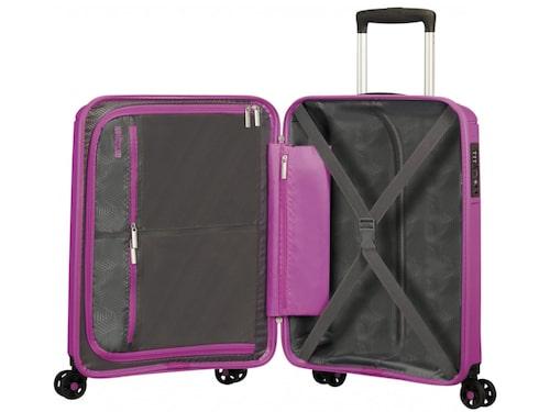 Sunside, American Tourister är en bra väska som rymmer mycket och väger lite.