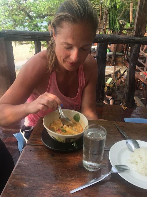 Magdalena Kowalczyk har i perioder bott i Thailand.