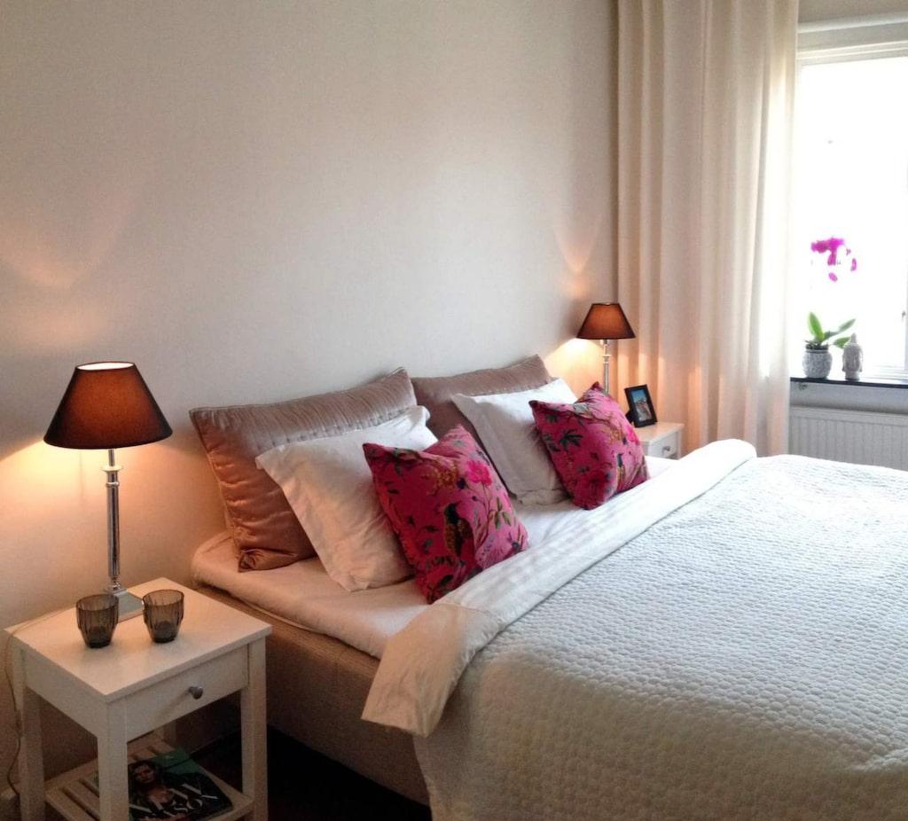 Marias sovrum före... (se nästa bild)
