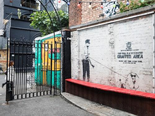 En äkta Banksy.