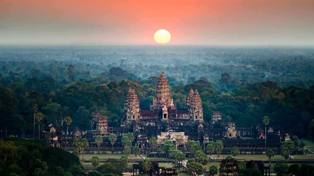 Angkor Wat i Siem Reap, Kambodia.