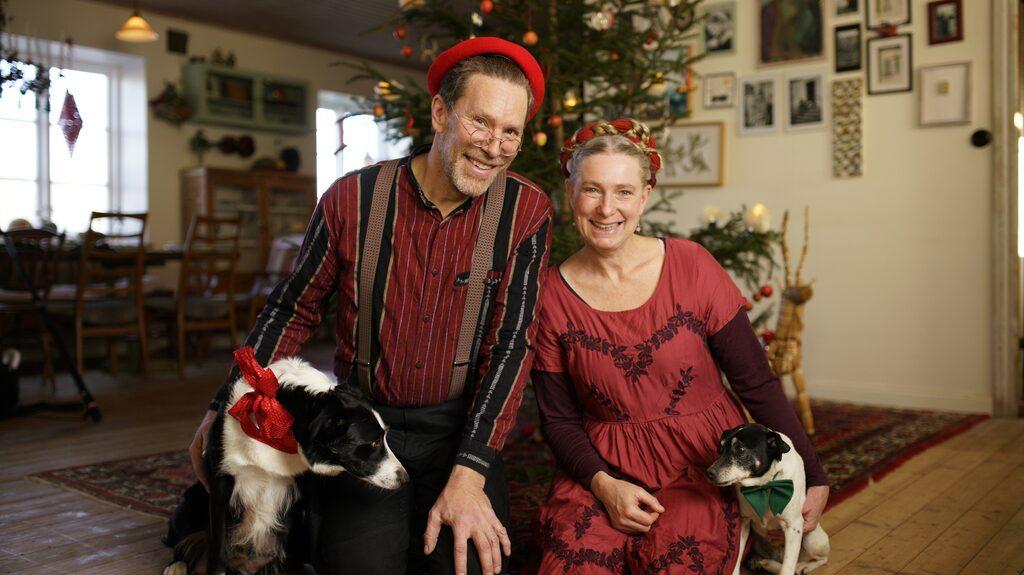 """""""Inför jul ska man göra så mycket man hinner och har lust med. Det är roligare att koka knäck än att städa"""", säger Marie Mandelmann."""