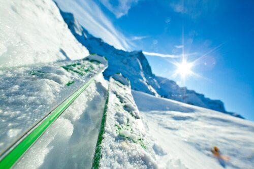 Slalomåkning är perfekt intervallträning.