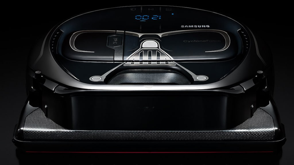 Samsung har tagit fram en riktig Star Wars-dammsugare som städar åt dig, en robotdammsugare.