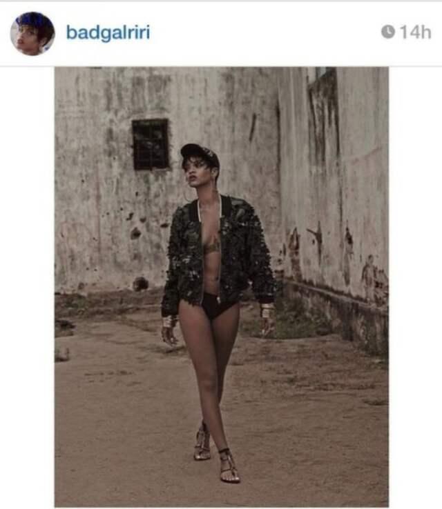 Rihanna nakenbilder
