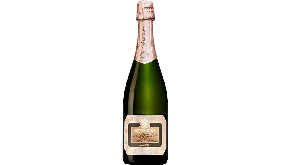 Gunilla Hultgren skålar gärna i rosébubbel vid tolvslaget, som Monte Rossa till exempel.