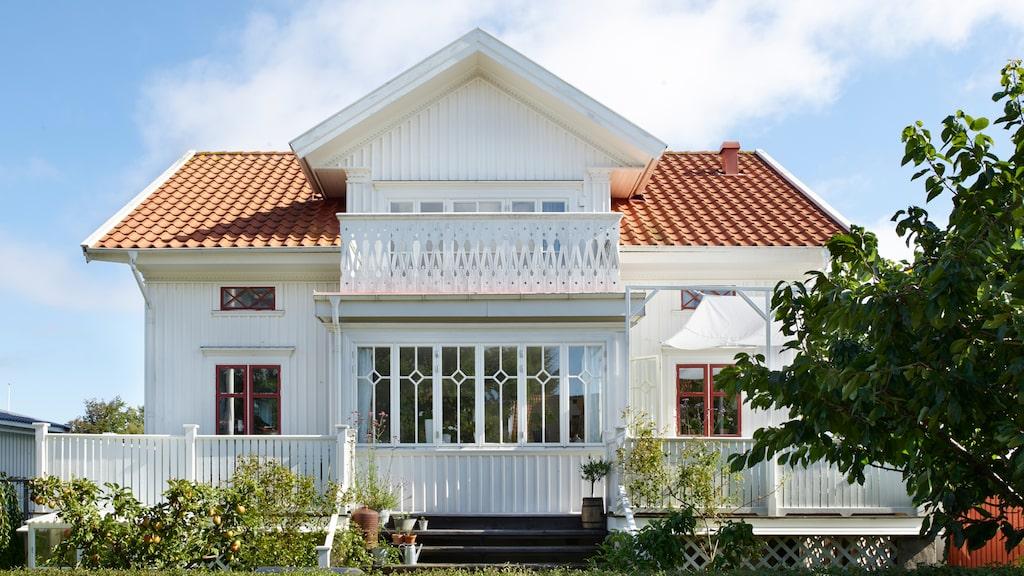 Huset har Ellinore ritat med inspiration från sin farfars skärgårdshus.