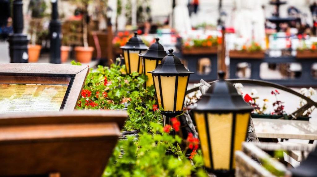 I Warszawa är prisnivån under hälften av den svenska.