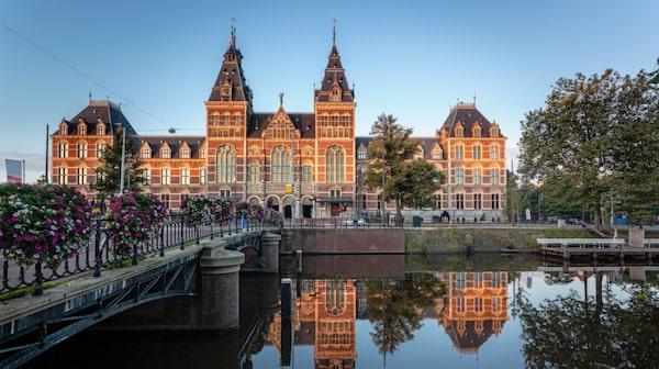 Rijksmuseum i Amsterdam, Nederländerna.
