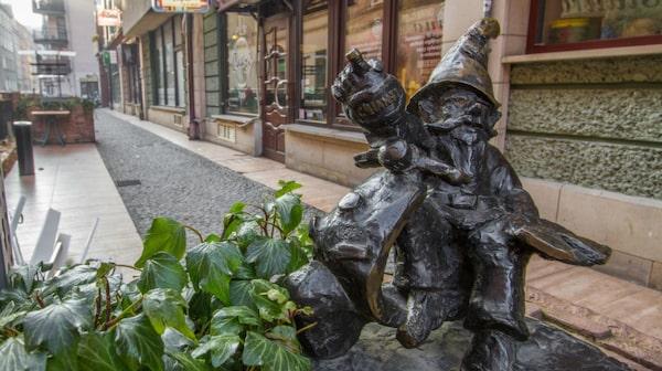 Wroclaws dvärgar har blivit en symbol för staden.