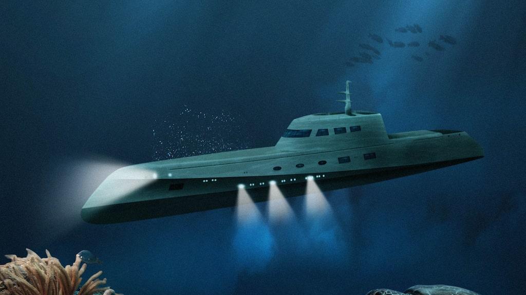 Lovers Deep har kallats världens lyxigaste ubåt.