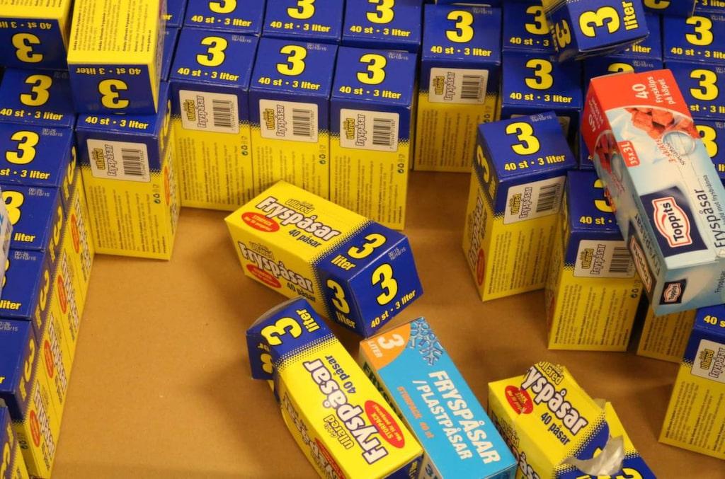 <p>Fryspåsar är en storsäljare – Gekås säljer 100 000 om dagen.</p>