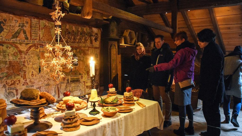 Julstök på Kulturen i Lund.