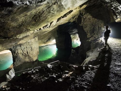 Ett äventyr under jord i Äventyrsgruvan.